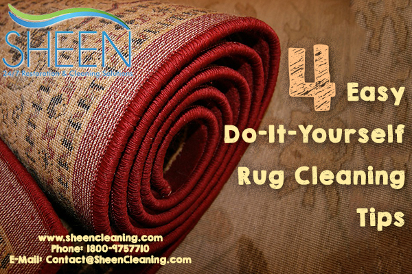 4 Easy Do-It-Yourself Rug Cleaning Tips