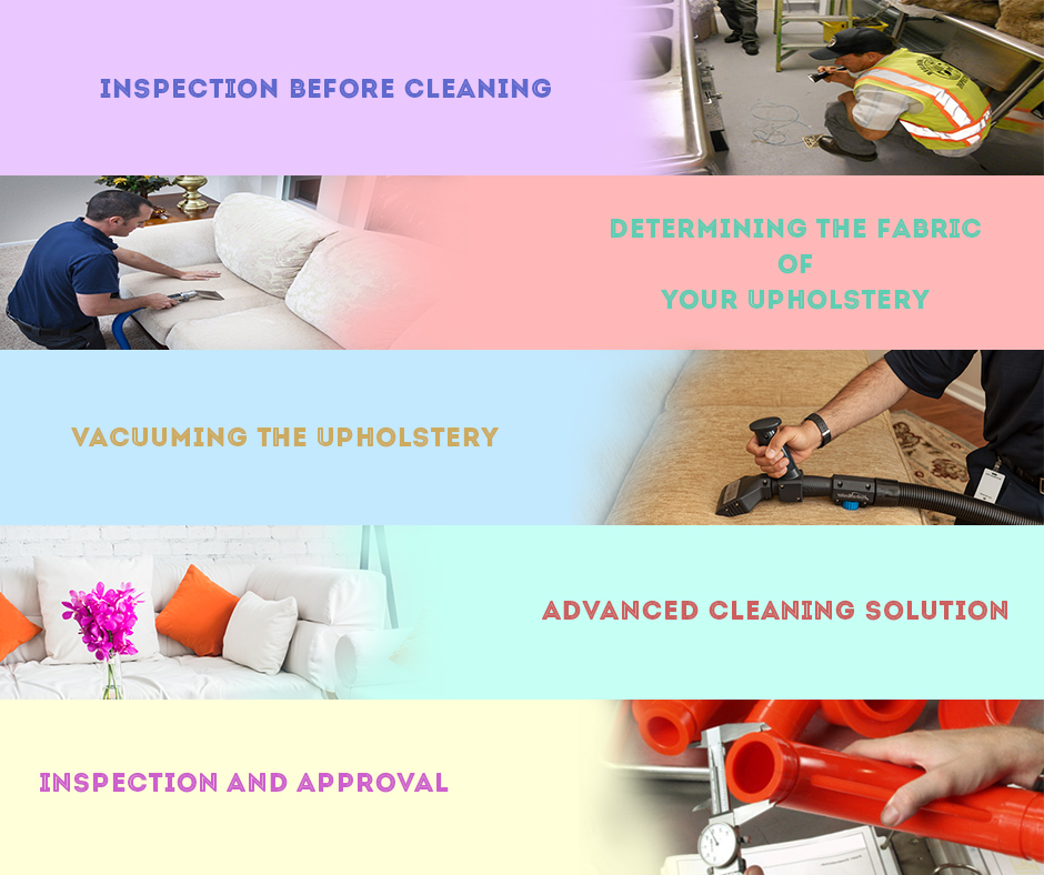 Professional Upholstery Cleaning Works